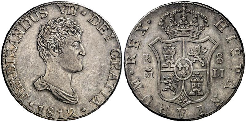 4 reales 1810. Fernando VII. Valencia 1812-810