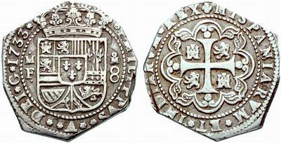 4 Reales tipo Macuquino, ceca de Mexico. 42463710