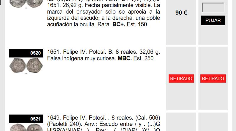 1651. Felipe IV. Potosí. B. 8 reales. 32,06 g. Falsa indígena Sin_ty12
