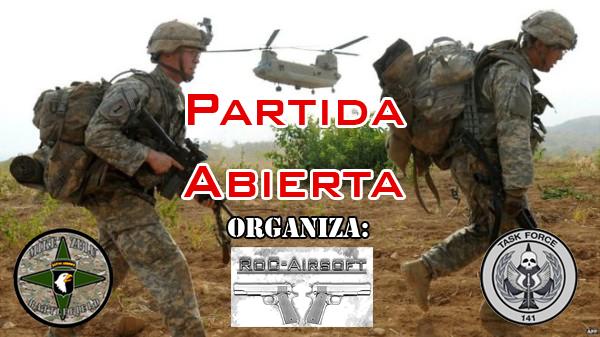 **CANCELADA** Partida Abierta - Jueves 13/04/17 - Mike Zulu Battlefield Partid15