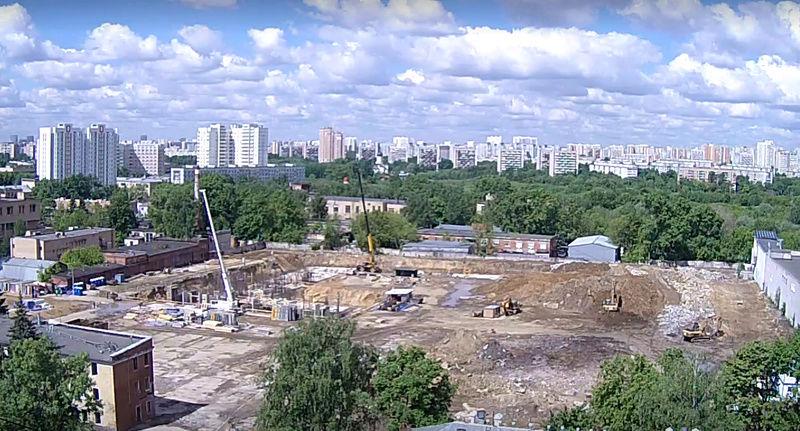 """Веб-камеры на площадке строительства ЖК """"Нормандия"""" 0sxzuu10"""