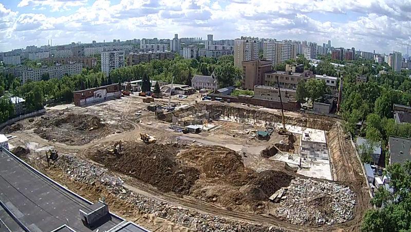 """Веб-камеры на площадке строительства ЖК """"Нормандия"""" Do8kgz10"""