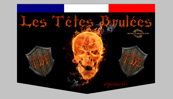 LES TETES BRULEES - KING OF AVALON