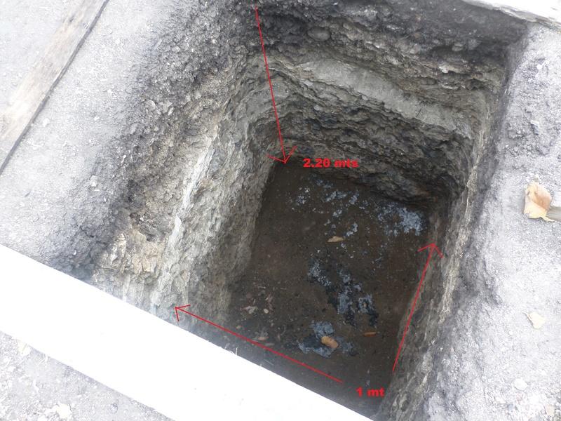 Excavacion y artefactos Ent10