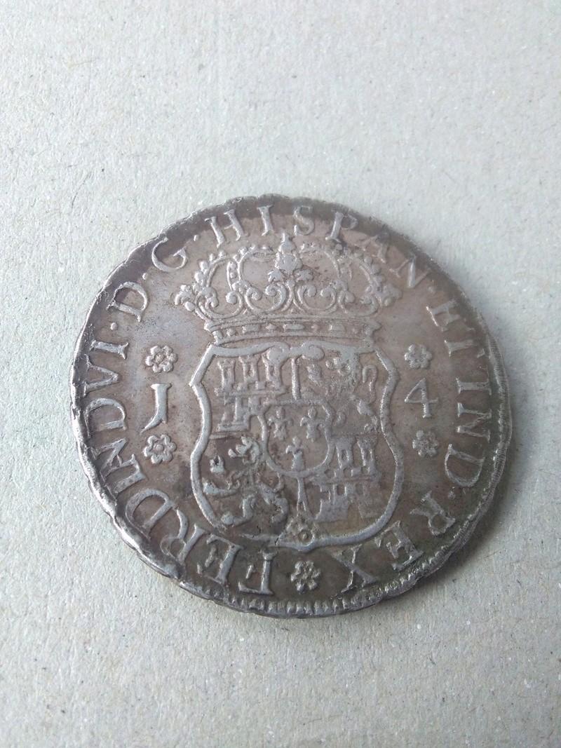 4 reales Fernando VI ceca  de Guatemala, 1754. Img_2060