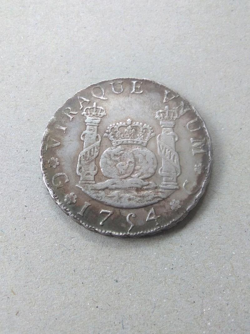 4 reales Fernando VI ceca  de Guatemala, 1754. Img_2061