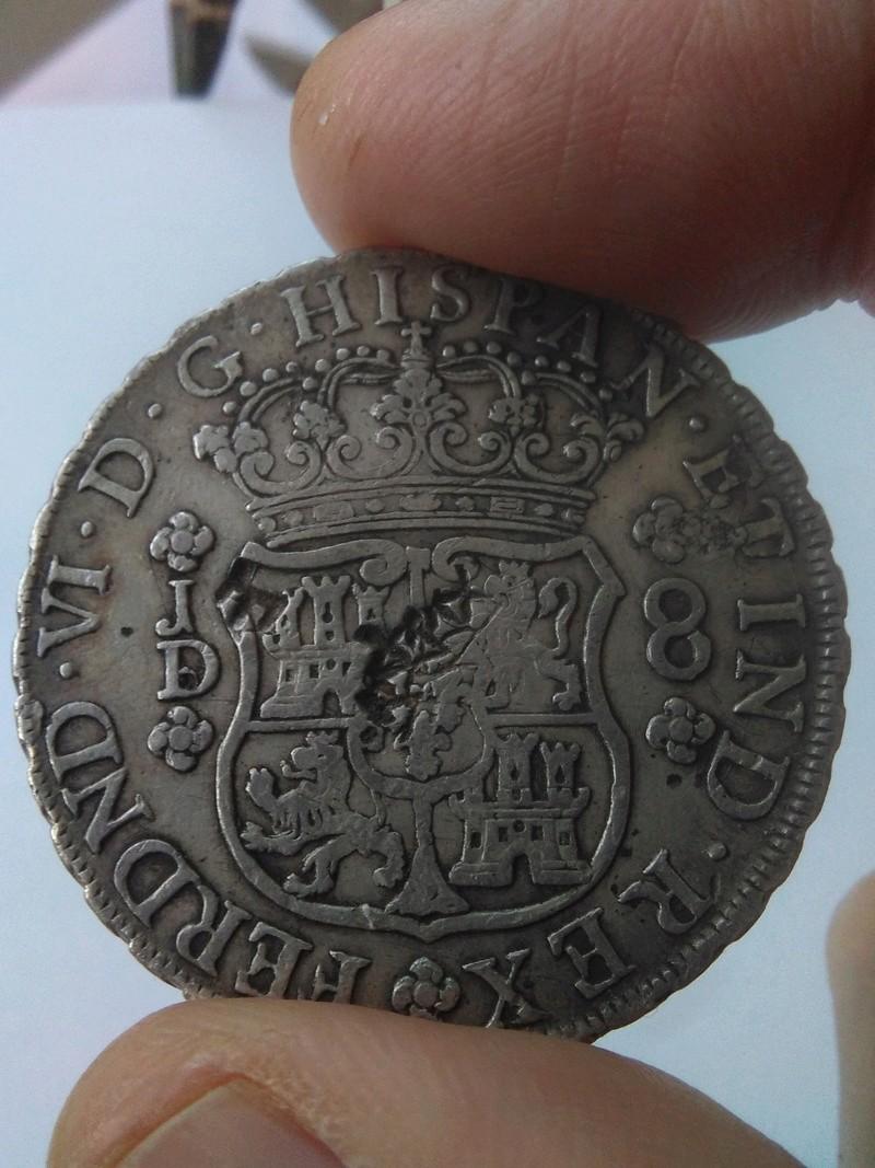 8 reales de Fernando VI, acuñados en Lima, 1755 Img_2074