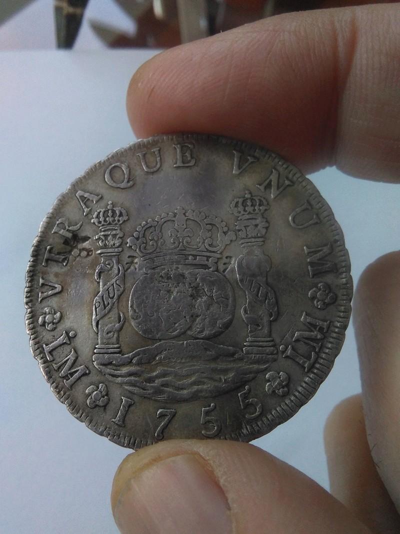 8 reales de Fernando VI, acuñados en Lima, 1755 Img_2075