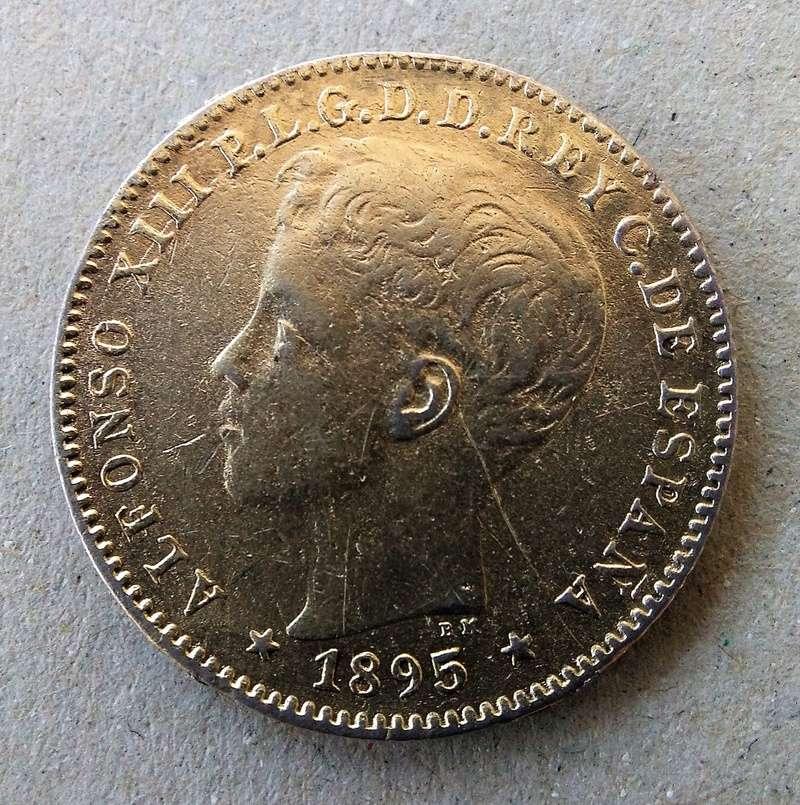 20 centavos de peso 1895. Alfonso XIII. Puerto Rico Img_2095
