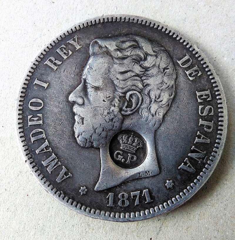 5 pesetas 1871 (*18-75). Resello GP (Azores). Opinión Img_2109