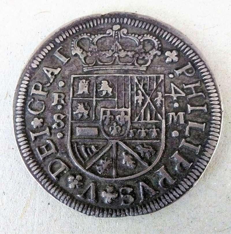 4 reales de Felipe V, Sevilla 1718 - M. Dedicado a Lanzarote Img_2111