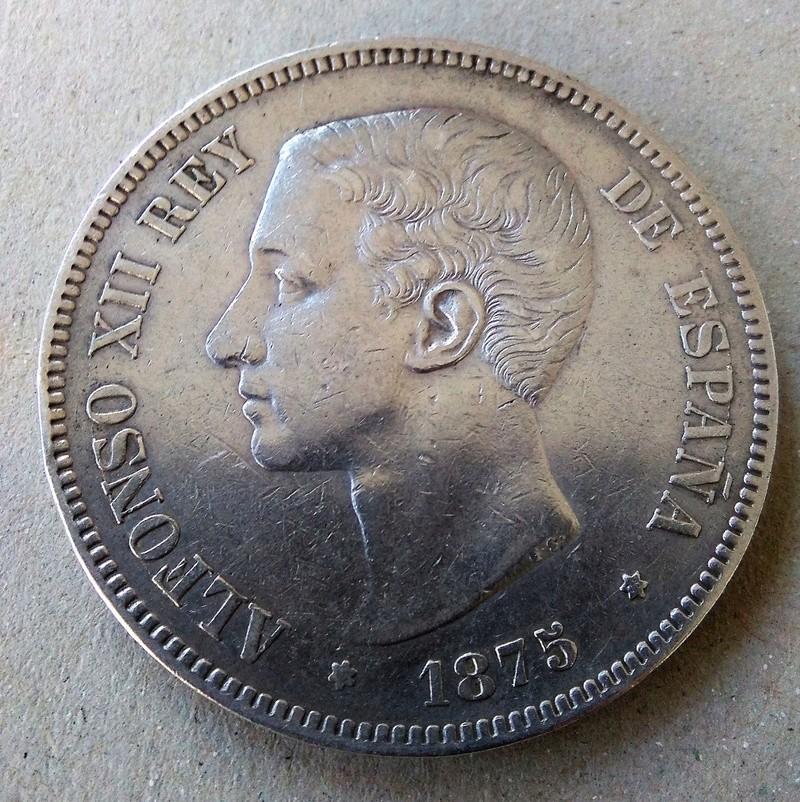 5 pesetas 1875. Alfonso XII Img_2117