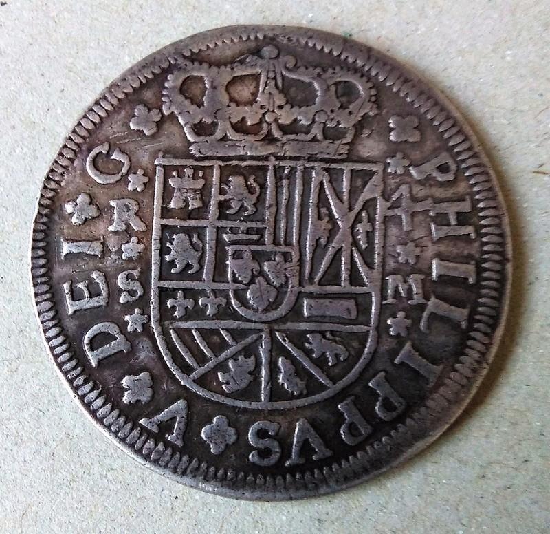 4 reales  Felipe V, ceca de Sevilla -1718. Dedicado a Nical Img_2119