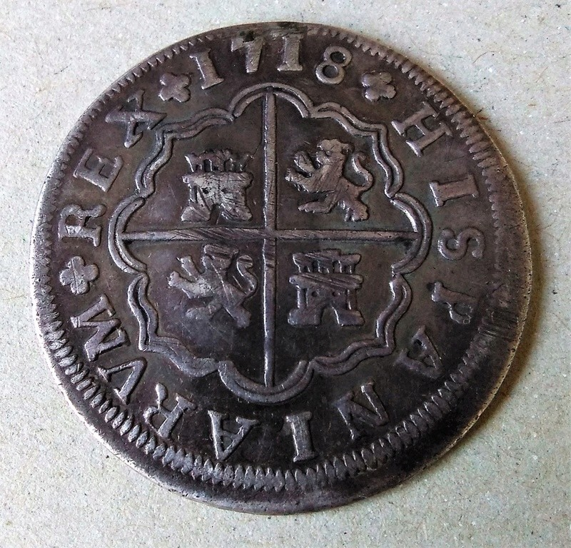 4 reales  Felipe V, ceca de Sevilla -1718. Dedicado a Nical Img_2120