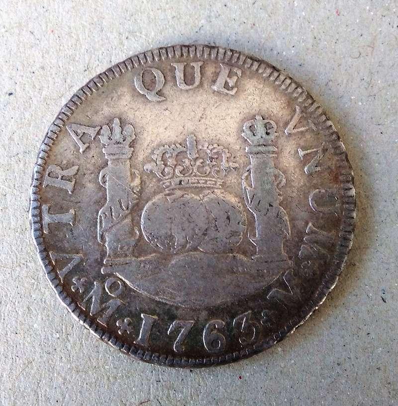 2 reales  Carlos III ,ceca de México, 1763 Img_2128