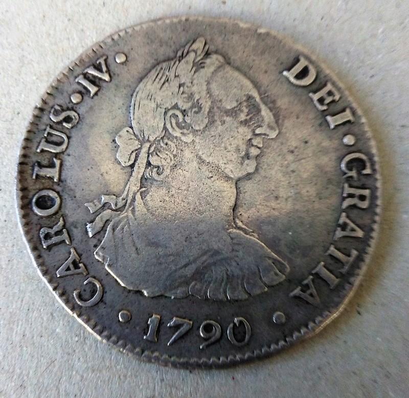 4 reales 1790. Carlos IV. Potosí. Busto de Carlos III Img_2129