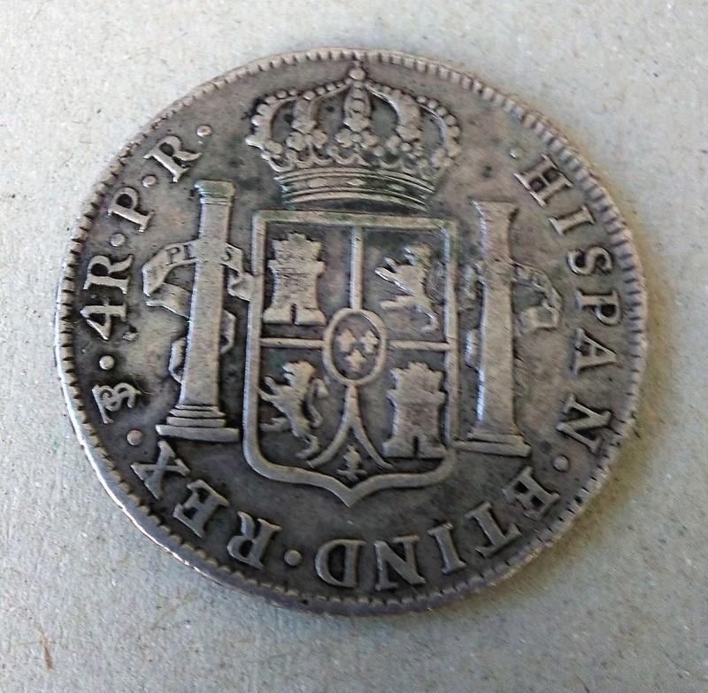 4 reales 1790. Carlos IV. Potosí. Busto de Carlos III Img_2130