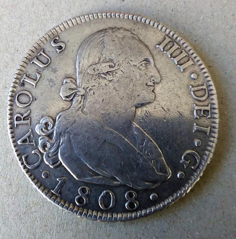8 reales 1808. Carlos IV. Madrid Img_2138