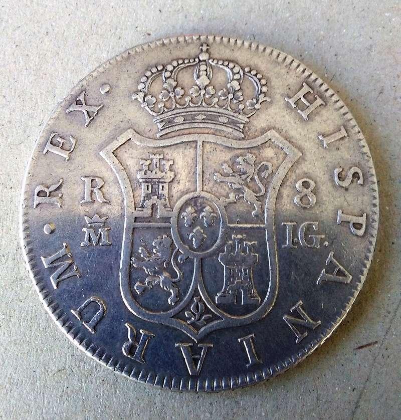 8 reales 1808. Carlos IV. Madrid Img_2139