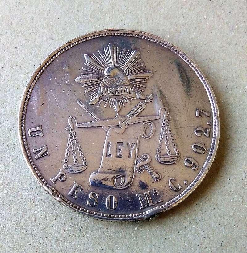 méxico - Monedas de 8 reales y 1 peso de México desde la Independencia. Img_2154