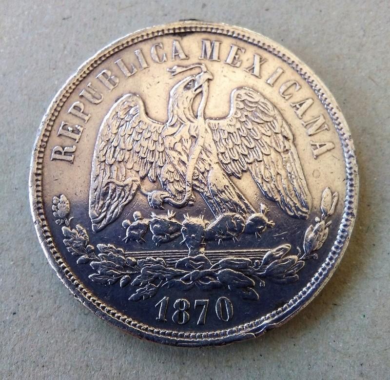 méxico - Monedas de 8 reales y 1 peso de México desde la Independencia. Img_2155