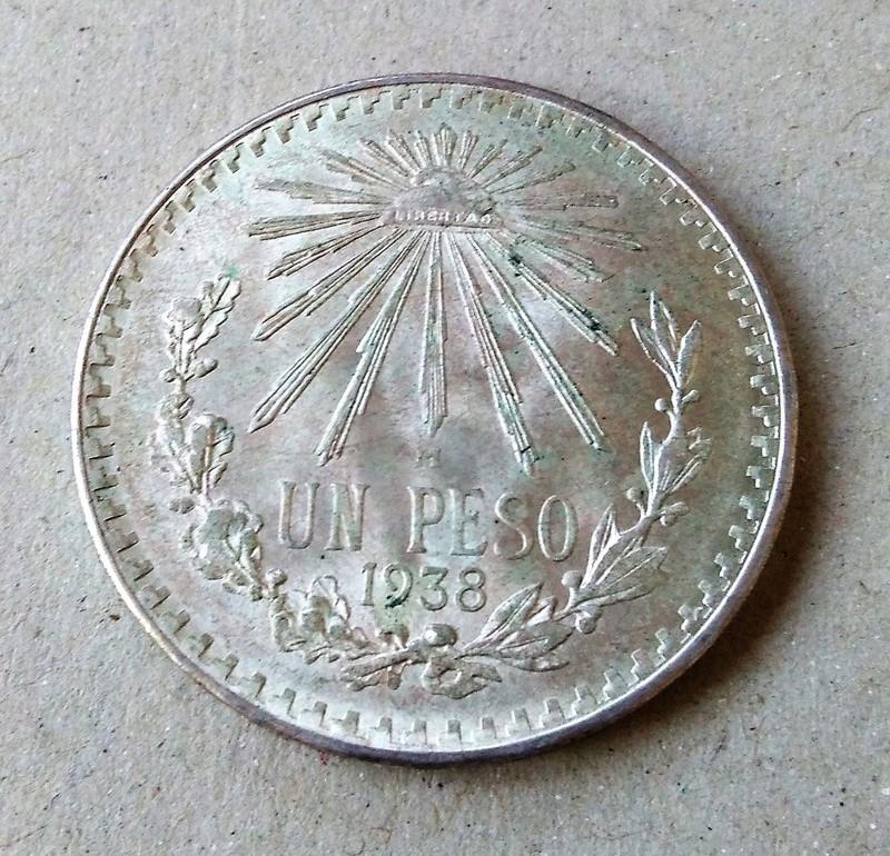 méxico - Monedas de 8 reales y 1 peso de México desde la Independencia. Img_2160