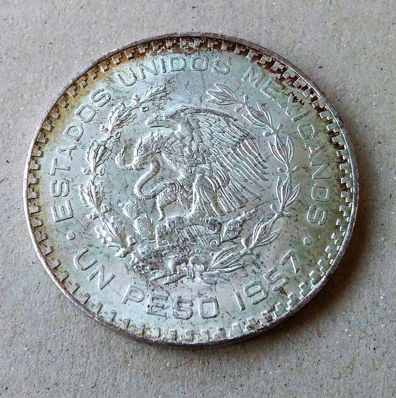 méxico - Monedas de 8 reales y 1 peso de México desde la Independencia. Img_2169
