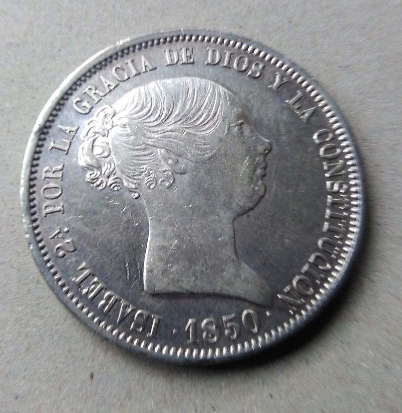 20 reales 1850. Isabel II. Madrid Img_2174