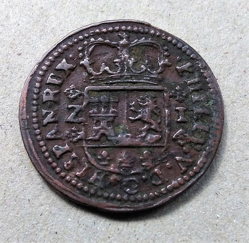 1 maravedí de Felipe V, Zaragoza 1719 Img_2188