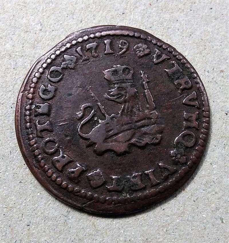 1 maravedí de Felipe V, Zaragoza 1719 Img_2189