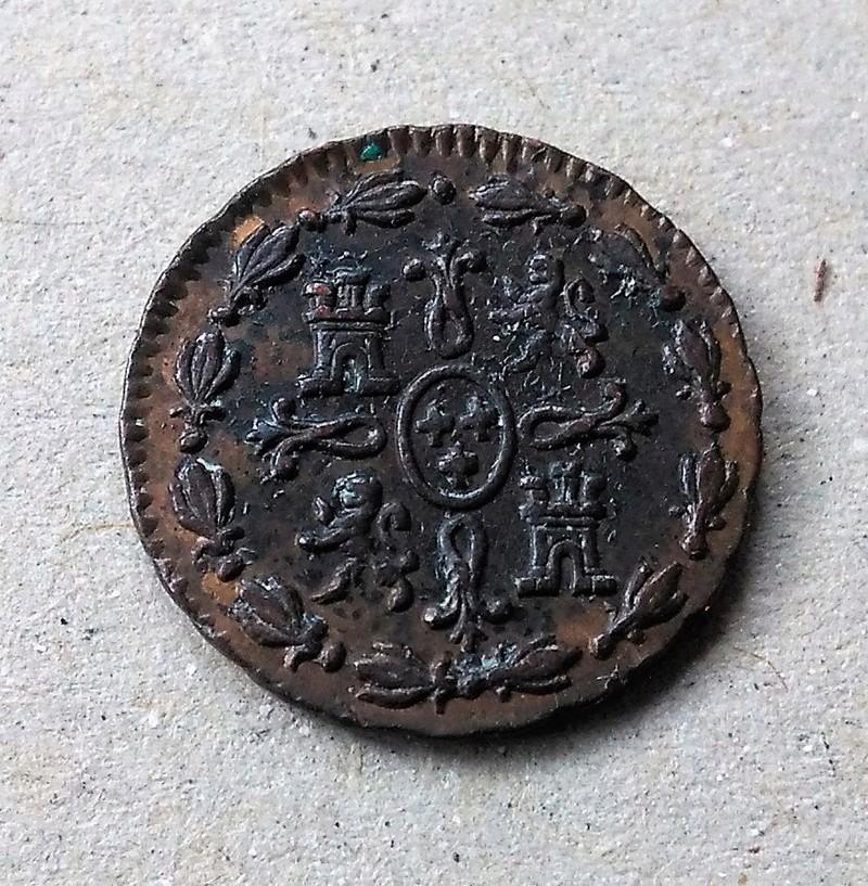 1 maravedí de Carlos III, ceca de Madrid -1770 Img_2191