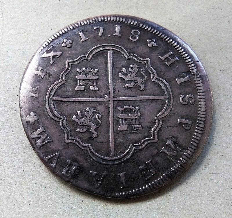 8 reales de Felipe V, ceca de Sevilla- 1718. Img_2199