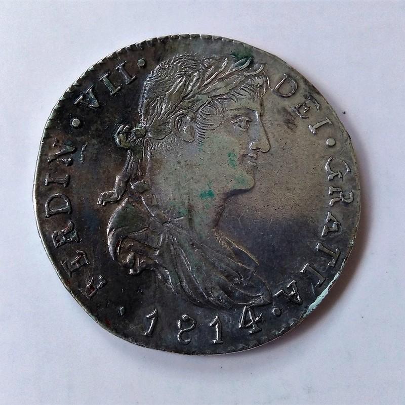 4 reales 1814. Fernando VII. Guadalajara Img_2206