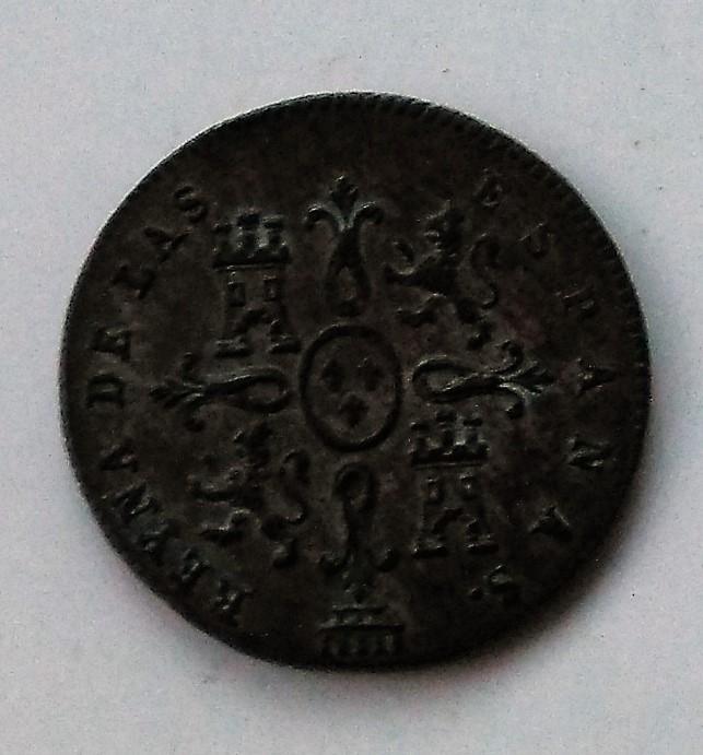 1 maravedí 1842. Isabel II. Segovia Img_2212