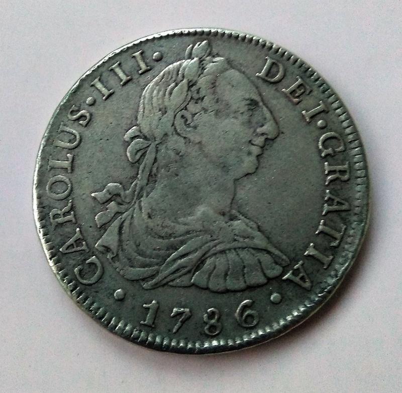 8 reales de Carlos III - Lima, 1786 Img_2215
