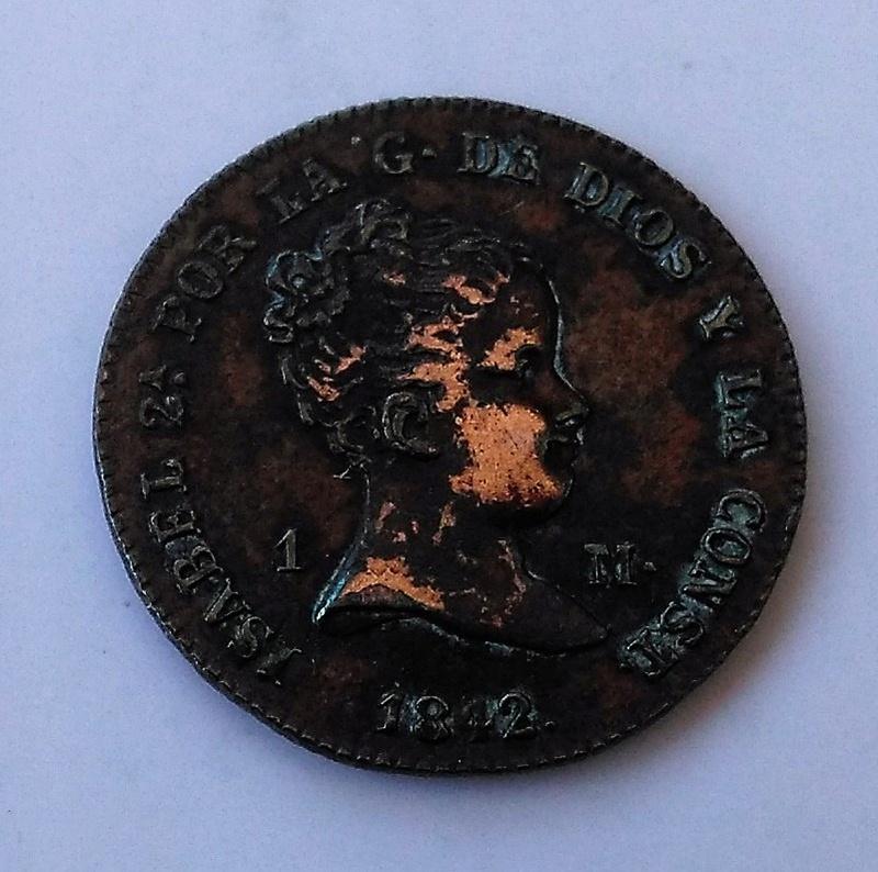 1 maravedí 1842. Isabel II. Segovia Img_2217