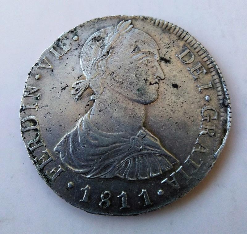 8 reales 1811. Fernando VII. Lima. Busto indígena Img_2219