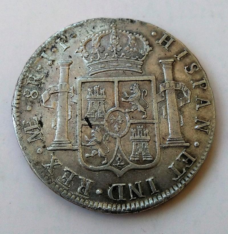 8 reales 1811. Fernando VII. Lima. Busto indígena Img_2220