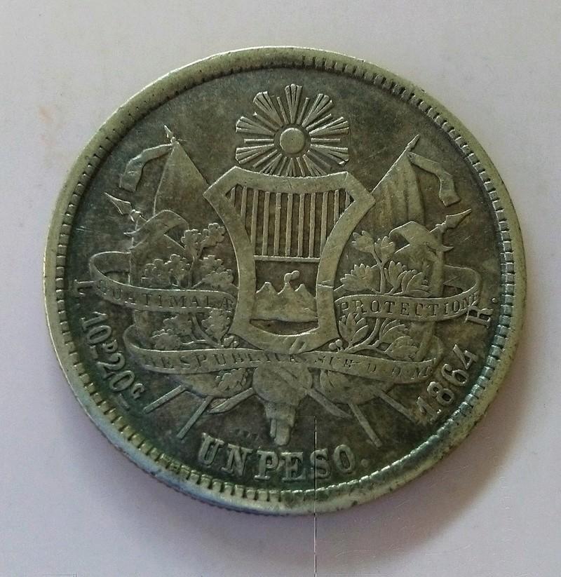1894 guatemala - Monedas de 8 reales, pesos y quetzal de Guatemala, desde la Independencia Img_2238