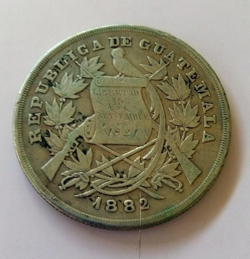 1894 guatemala - Monedas de 8 reales, pesos y quetzal de Guatemala, desde la Independencia Img_2240