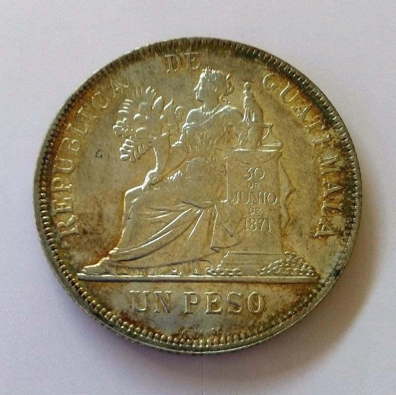 1894 guatemala - Monedas de 8 reales, pesos y quetzal de Guatemala, desde la Independencia Img_2245