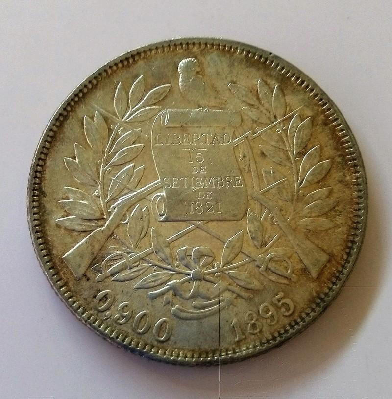1894 guatemala - Monedas de 8 reales, pesos y quetzal de Guatemala, desde la Independencia Img_2246