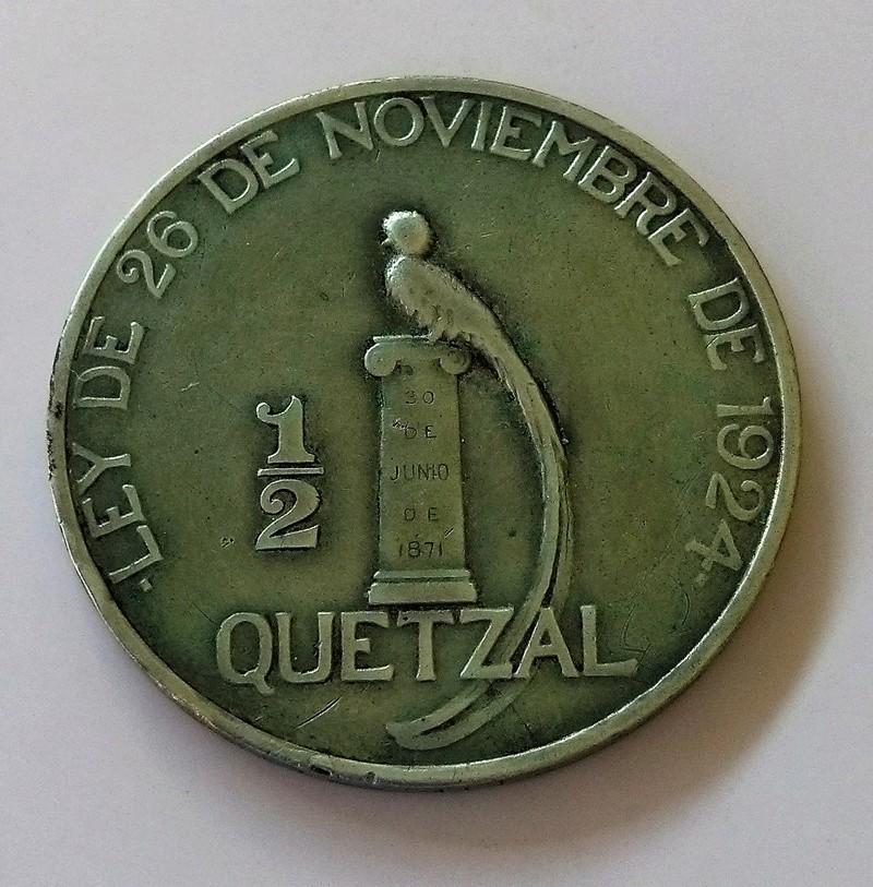 1894 guatemala - Monedas de 8 reales, pesos y quetzal de Guatemala, desde la Independencia Img_2247