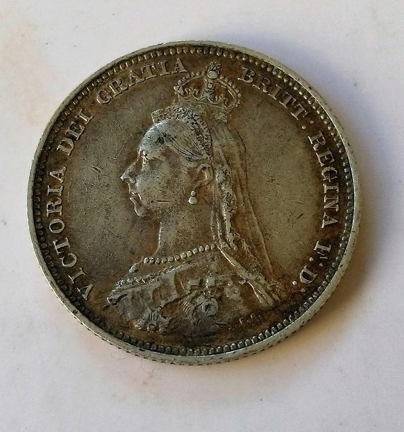 1 shilling (chelín) de la reina Victoria, Gran Bretaña, 1887 Img_2251