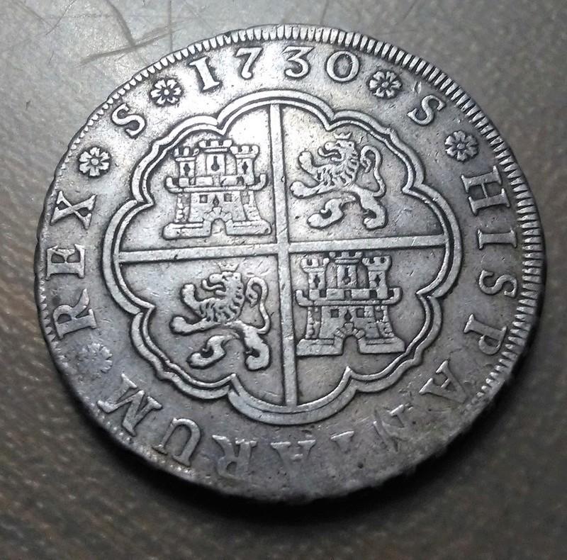 8 reales de Sevilla 1730 - Felipe V Img_2270