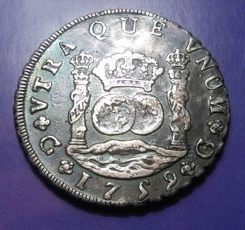 8 reales, Fernando VI -ceca de  Guatemala-1759 Img_2280