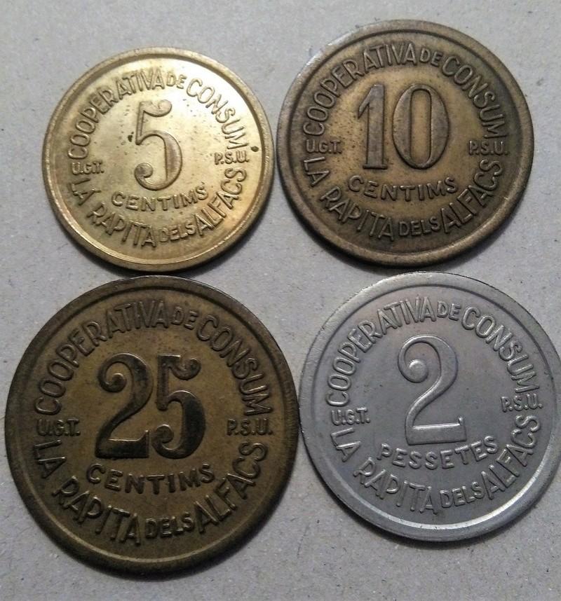 GUERRA CIVIL EN CATALUÑA: Monedas de emergencia y necesidad. Img_2297