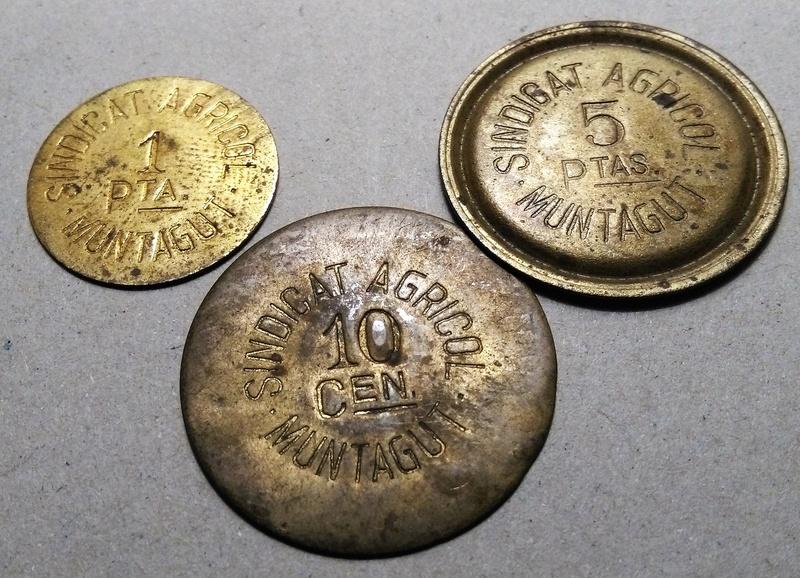 GUERRA CIVIL EN CATALUÑA: Monedas de emergencia y necesidad. Img_2304