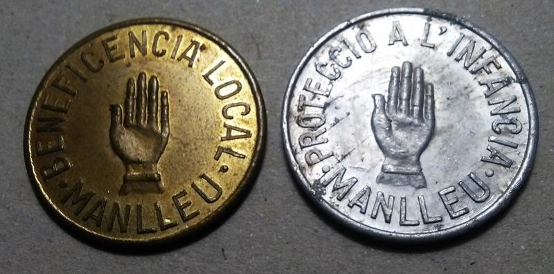 GUERRA CIVIL EN CATALUÑA: Monedas de emergencia y necesidad. Img_2309