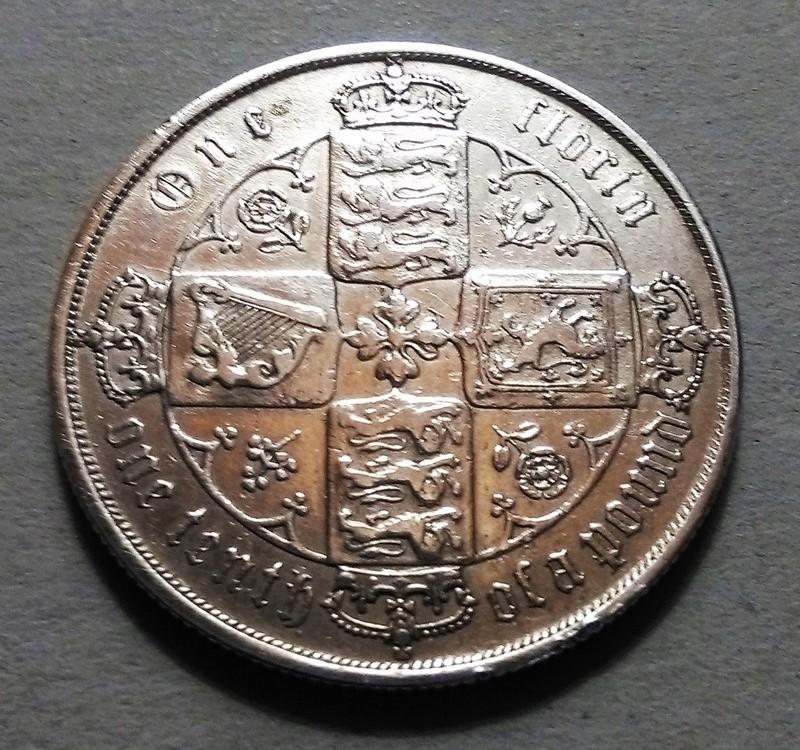 Un Florín, 1872 - Victoria - Gran Bretaña Img_2317